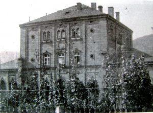 Preußischer Bahnhof in Gemünden